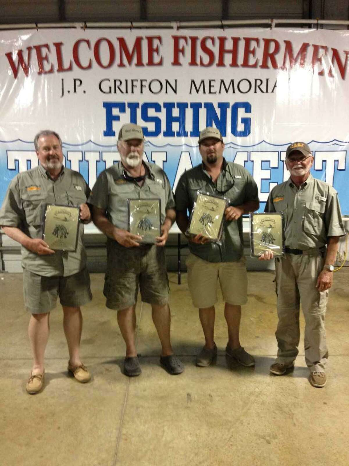 Winners in the open division was team Reel Ready II, consisting of R. Allen Caudle, Scott Becker, Terry Eatherton and Cody Eatherton.
