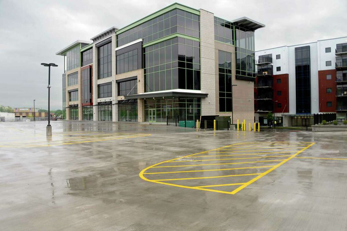 Office building at Mohawk Harbor Tuesday May 22, 2018 in Schenectady, NY. (John Carl D'Annibale/Times Union)