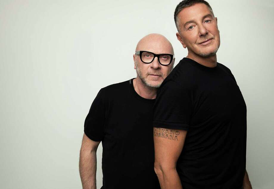 Domenico Dolce, left, and Stefano Gabbana in New York. Decades into their partnership, the pair is doubling down on their mission to design for the ultra wealthy. Photo: Photo For The Washington Post By Jesse Dittmar / Jesse Dittmar