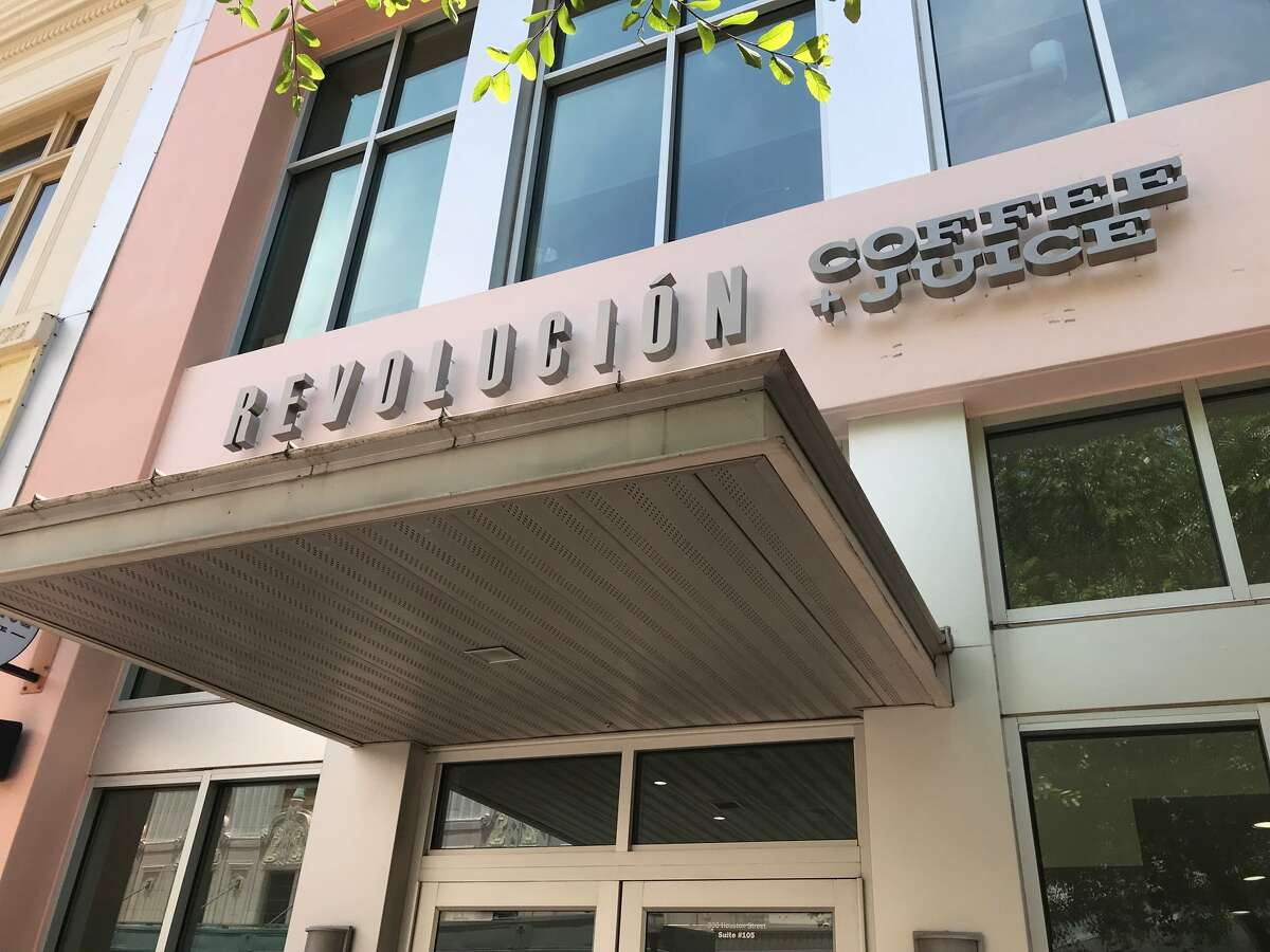 Revolucion Coffee + Juice The grab-and-go restaurant that offers fresh, health-conscious items opened in May. 300 E. Houston St., Suite 105