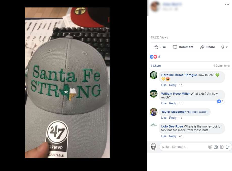 2619487f85 LIDS is offering a custom  Santa Fe STRONG  hat design with all proceeds  going to relief fund