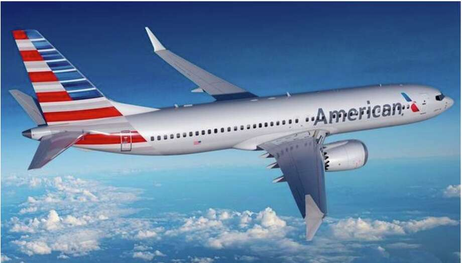American's new Boeing 737 MAX8. Photo: American Airilines