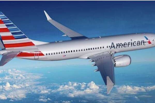 American's new Boeing 737 MAX8.