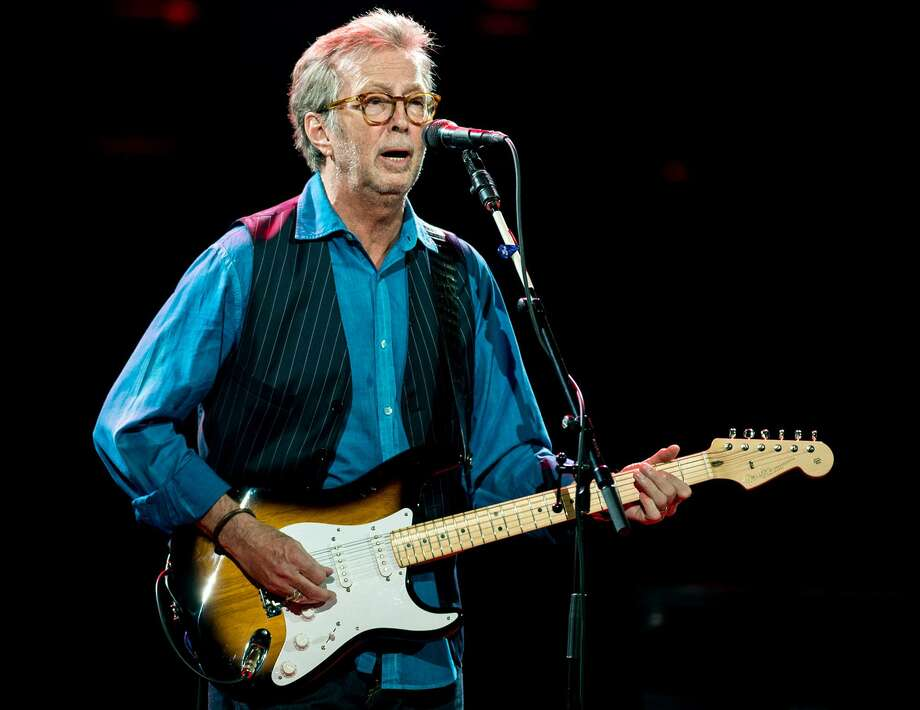 Eric Clapton will be the headline act for the 2018 Greenwich Town Party on Saturday at Roger Sherman Baldwin Park. The event is sold out. Photo: Neil Lupin / Redferns Via Getty Images / 2015 Neil Lupin