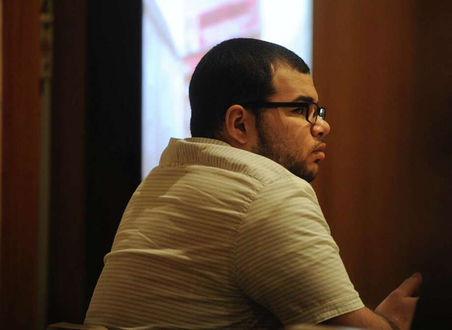 Treizy Lopez, of West Haven, listens to testimony as the state presents its case in his trial for the April 11, 2015 murder of popular Bridgeport store owner Jose Salgado in Superior Court in Bridgeport, Conn. on Tuesday, May 22, 2018. Photo: Brian A. Pounds / Hearst Connecticut Media / Connecticut Post