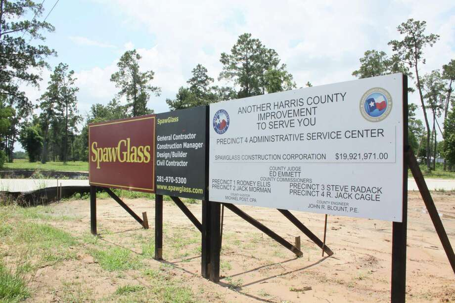 Tomball City Council approved the annexation of a 375-acre property where Harris County Precinct 4 is building a service center in May. The administration offices may move into the center as early as October. Photo: Mayra Cruz