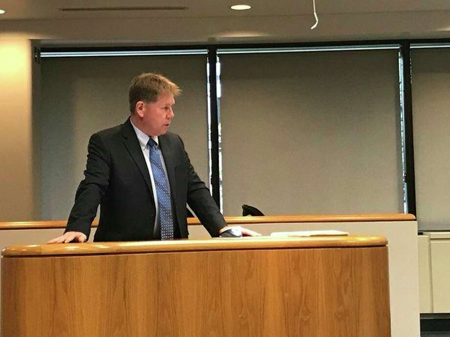 The Midland City Council adopts a $95.4 million 2018-19 budget presented by Assistant City Manager Dave Keenan at its Monday meeting. (Kate Carlson/kcarlson@mdn.net)