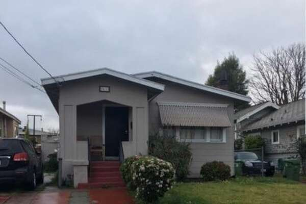 This two-bedroom house in Oakland is listed for $399,000. (Zillow)
