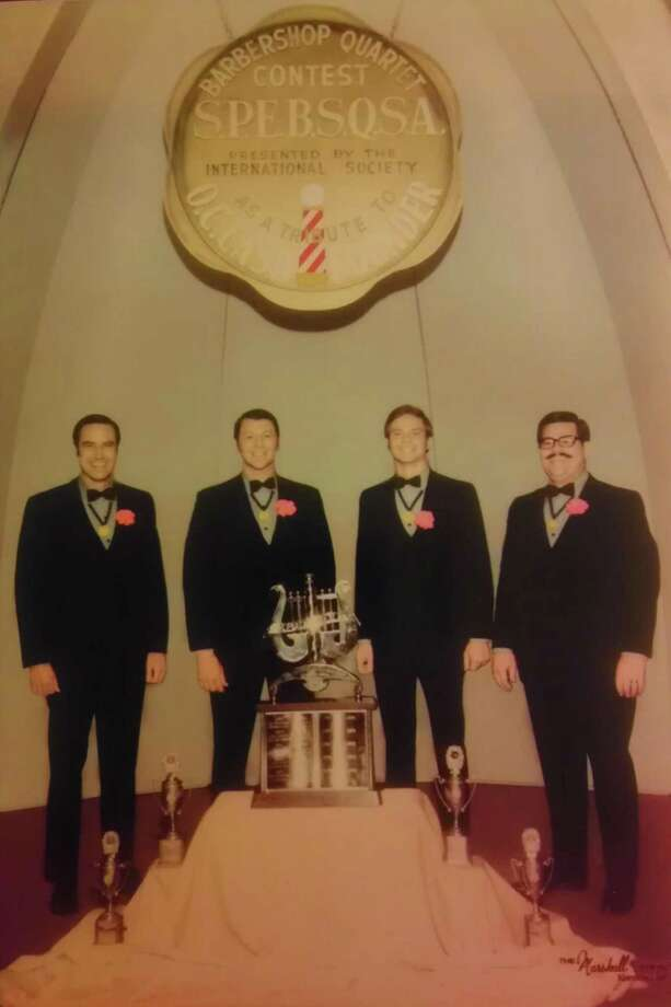 In 1969, the Mark IV quartet won the 1969 International Champion Barbershop Quartet award at what was then the Society for the Preservation and Encouragement of Barbershop Quartet Singing in America Inc. competition. Photo: Courtesy Photo