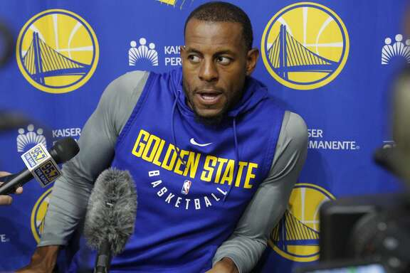 Warriors forward Andre Iguodala will miss Tuesday's Game 4.