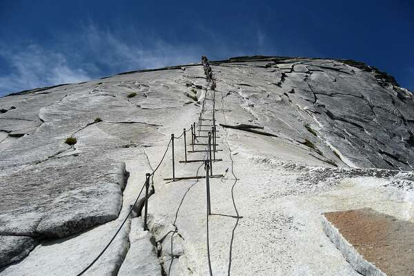 Yosemite's Half Dome summit to reopen to hikers with cable installation