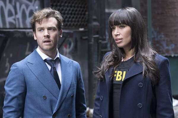 "Jack Cutmore-Scott and Ilfenesh Hadera in ""Deception."" (David Giesbrecht/ABC)"