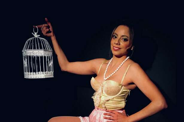 "Ashley Ayala stars in The Connecticut Cabaret Theatre's version of ""The Underpants"" weekend evenings through June 23 at the theater, 31-33 Webster Square Road in Berlin. For tickets, call 860-829-1248. Reservations are recommended. For more information go to www.ctcabaret.com."