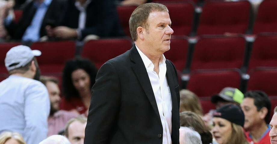Rockets owner Tilman Fertitta and the Rockets organization are working on a wide variety of plans for Thursday's Game 5 to pay tribute to the victims, first responders and community personnel impacted by the shooting at Santa Fe High School. Photo: Bob Levey/Getty Images