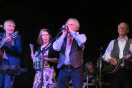 Washboard Slim & The Bluelights perform at the Buttonwood Tree in Middletown on June 9.