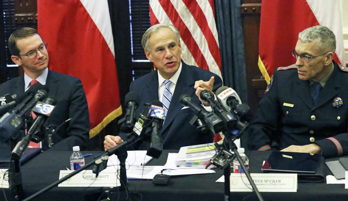 Governor Greg Abbott's comments come as HISD faces potentially major sanctions, including a state takeover of its locally elected school board, tied to chronically low academic results at four schools.