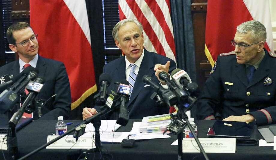 Governor Greg Abbott's comments come as HISD faces potentially major sanctions, including a state takeover of its locally elected school board, tied to chronically low academic results at four schools. Photo: Tom Reel, Staff / San Antonio Express-News / 2017 SAN ANTONIO EXPRESS-NEWS