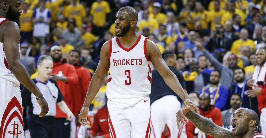 PHOTOS: More from the Rockets' Game 4 win in Oakland