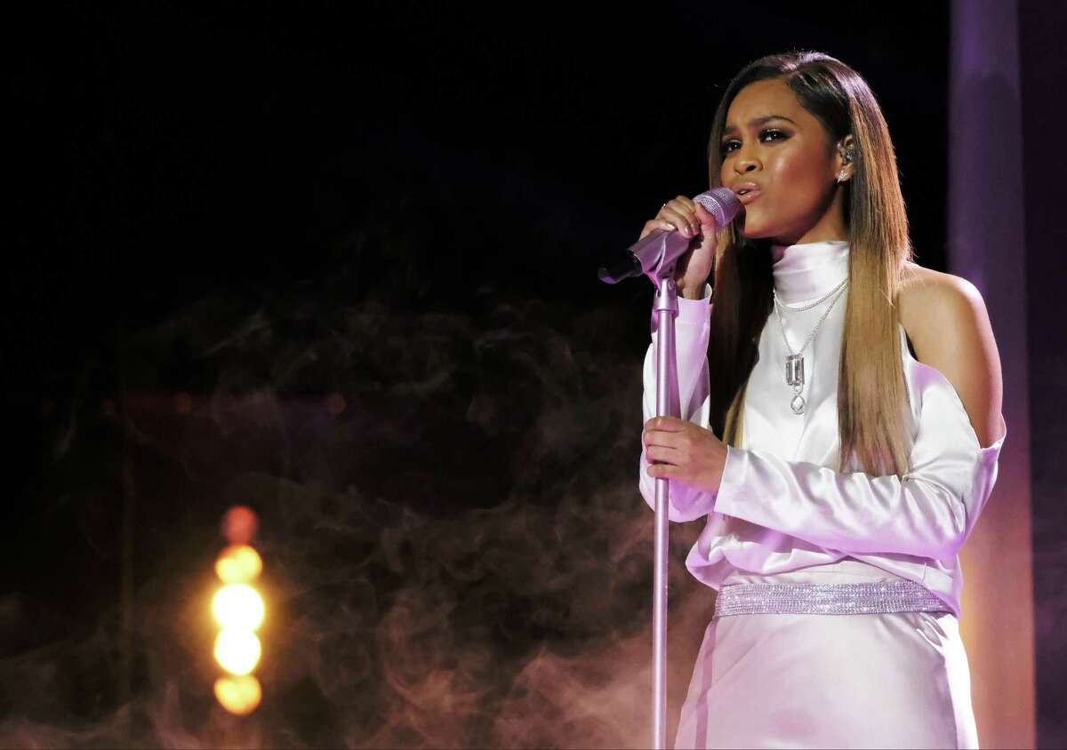 """Judson High alumna Spensha Baker, who finished fourth on """"The Voice,"""" made it further than any San Antonio singer on either """"Voice"""" or """"American Idol."""""""