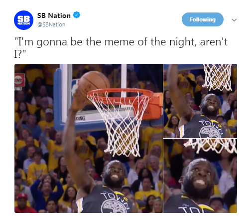 Warriors Come Out To Play Meme: Memes Come For Draymond Green, Warriors After Game 4 Loss