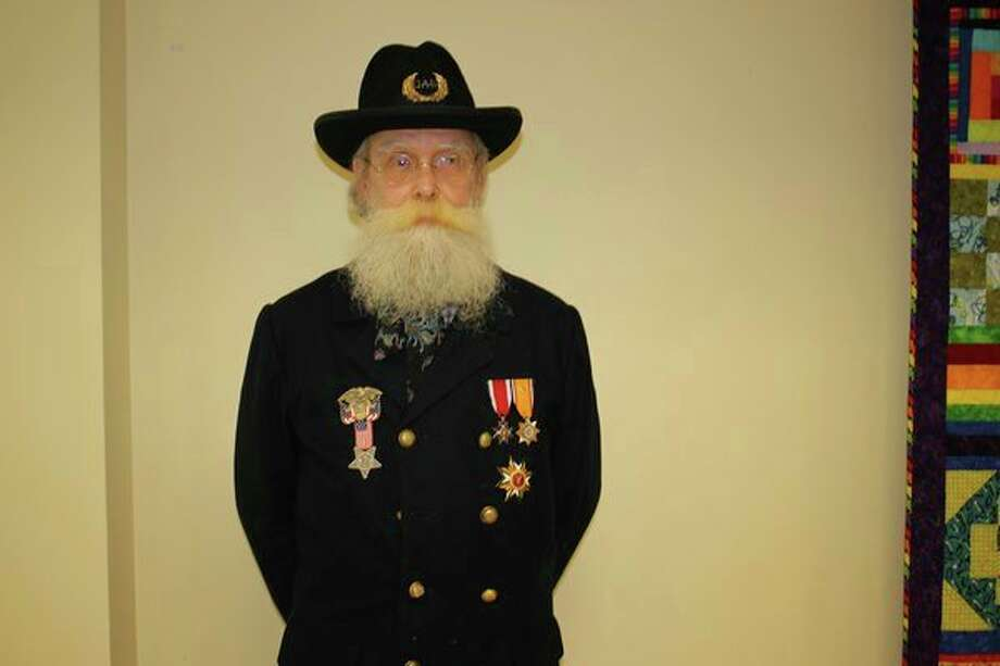 Keith G. Harrison, director and board president of The Grand Army of the Republic Memorial Hall and Museum located in Eaton Rapids. (Photo provided)