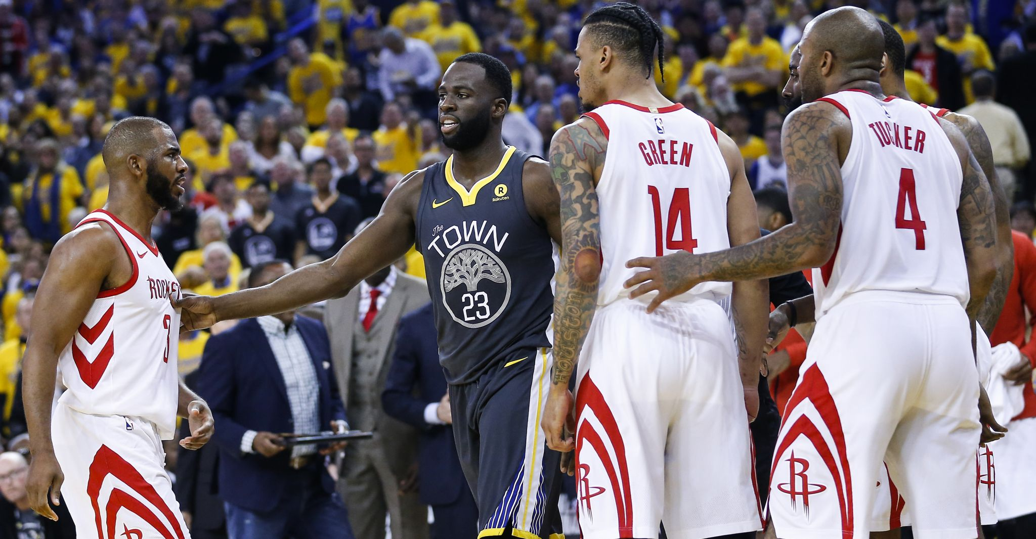 24ca783fb298 3-pointers  Takeaways from the Rockets  Game 4 win against the Warriors -  HoustonChronicle.com