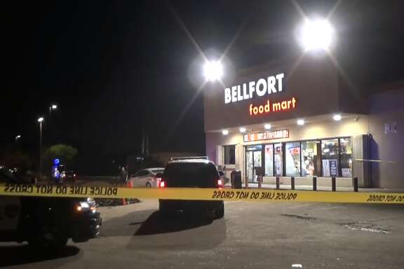 One person was shot on Bellfort on Tuesday, May 22, 2018.