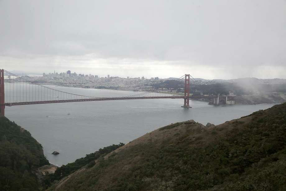 Cool and cloudy weather is expected through the end of the week, according to the National Weather Service, though heavier rain has been predicted for Friday. Photo: The Chronicle