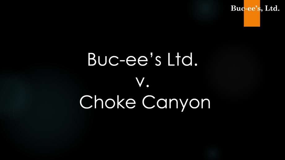 A screenshot of a slideshow presentation used by Buc-ee's in their 2018 lawsuit against Choke Canyon. These images were used as a demonstrative to the jury during opening and closing statements. Photo: H. Tracy Richardson III Via Buc-ee's Ltd./Courtesy To The Houston Chronicle