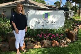 Angela Walker of The Cottage Door Boutique, 1001 Ave. B, Katy, received the Katy Proud Business Award from Keep Katy Beautiful.