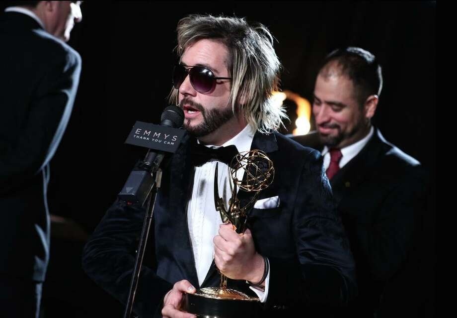 "Director Eric Michael Schrader (""Will Work for Views"") at the Emmy Awards. Photo: Eric Schrader / Contributed Photo"