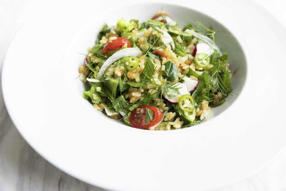 Crispy Rice Salad at UB Preserv Photo: Julie Soefer / Julie Soefer