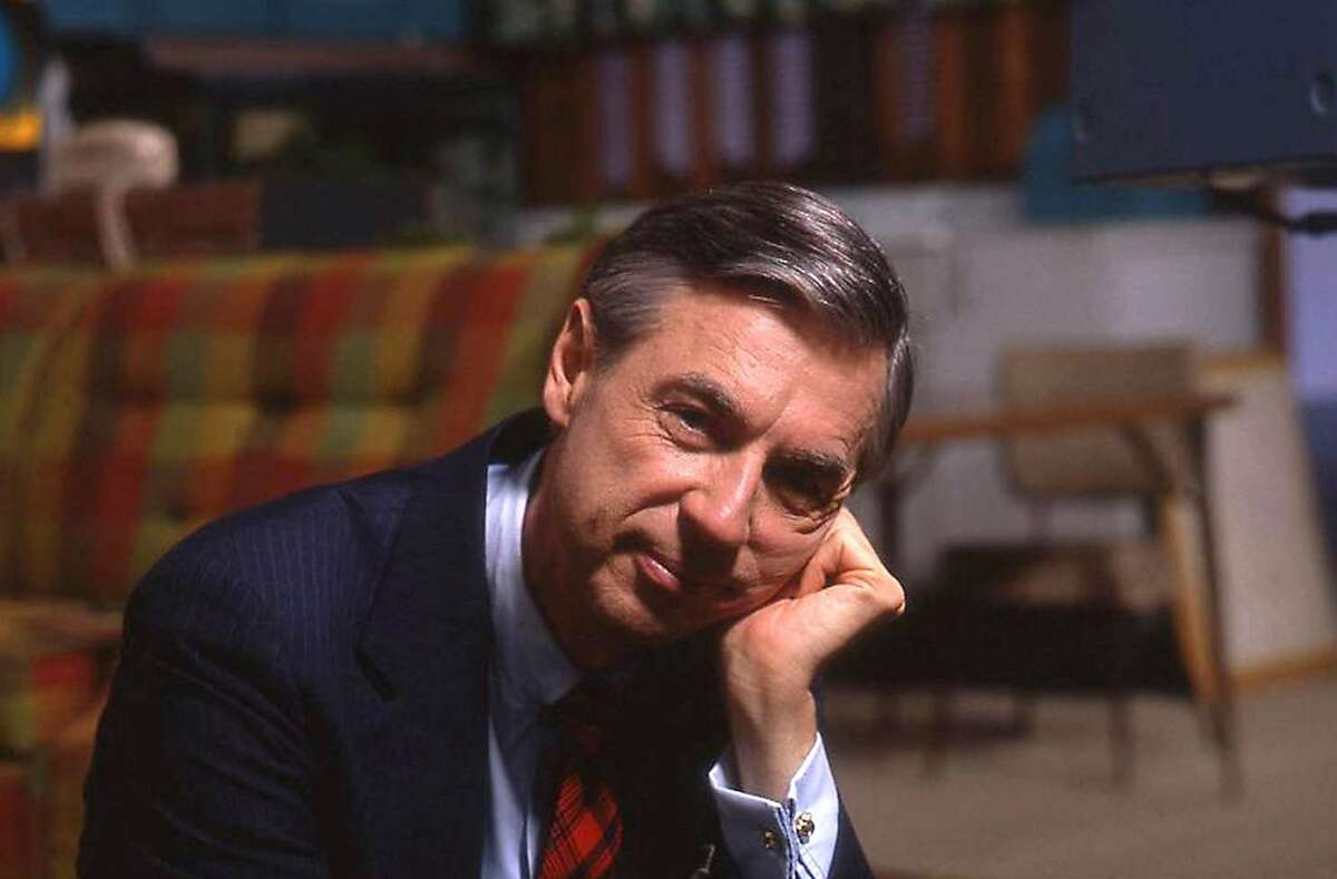 """Fred Rogers on the set of his show """"Mister Rogers' Neighborhood"""" from the film, """"Won't You Be My Neighbor?"""".Credit: Jim Judkis / Focus Features"""