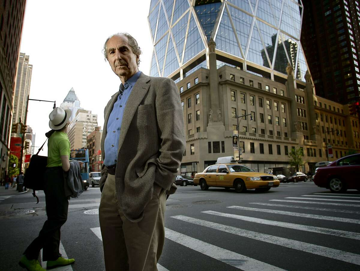 Philip Roth in New York City in 2007.