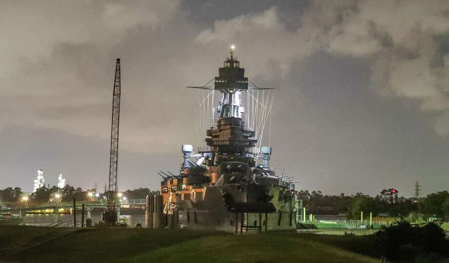 The Battleship Texas Saturday, May 12, 2018, in La Porte. ( Steve Gonzales / Houston Chronicle ) Photo: Steve Gonzales, Staff Photographer / Houston Chronicle / © 2018 Houston Chronicle