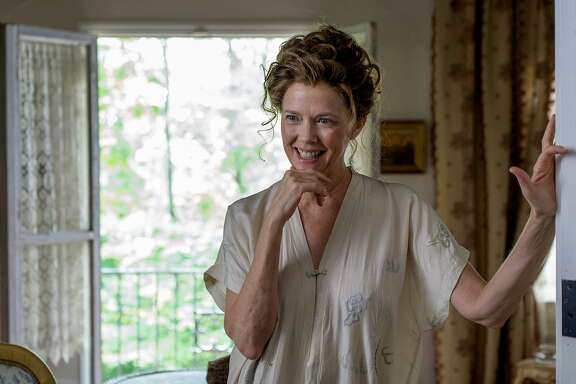 "Annette Bening as Irina Arkadina in ""Seagull."""