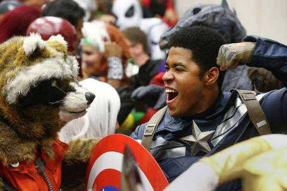 Comicpalooza, Texas' largest pop culture festival, will return to the George R. Brown Convention Center this weekend. ( Jon Shapley / Houston Chronicle )
