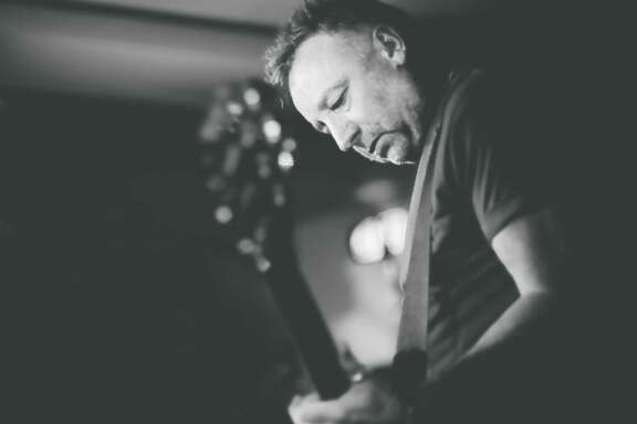 Former New Order and Joy Division bass player Peter Hook is touring with his new band the Light.