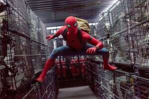 """Tom Holland stars as Spider-Man in """"Spider-Man: Homecoming."""""""