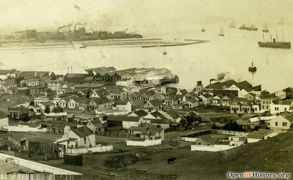 BUTCHERTOWN Bordering streets: Evans/Selby/Islais Creek/SF Bay In 1880s a group of butchers purchased 81 acres of waterlogged land in southeastern SF to establish a