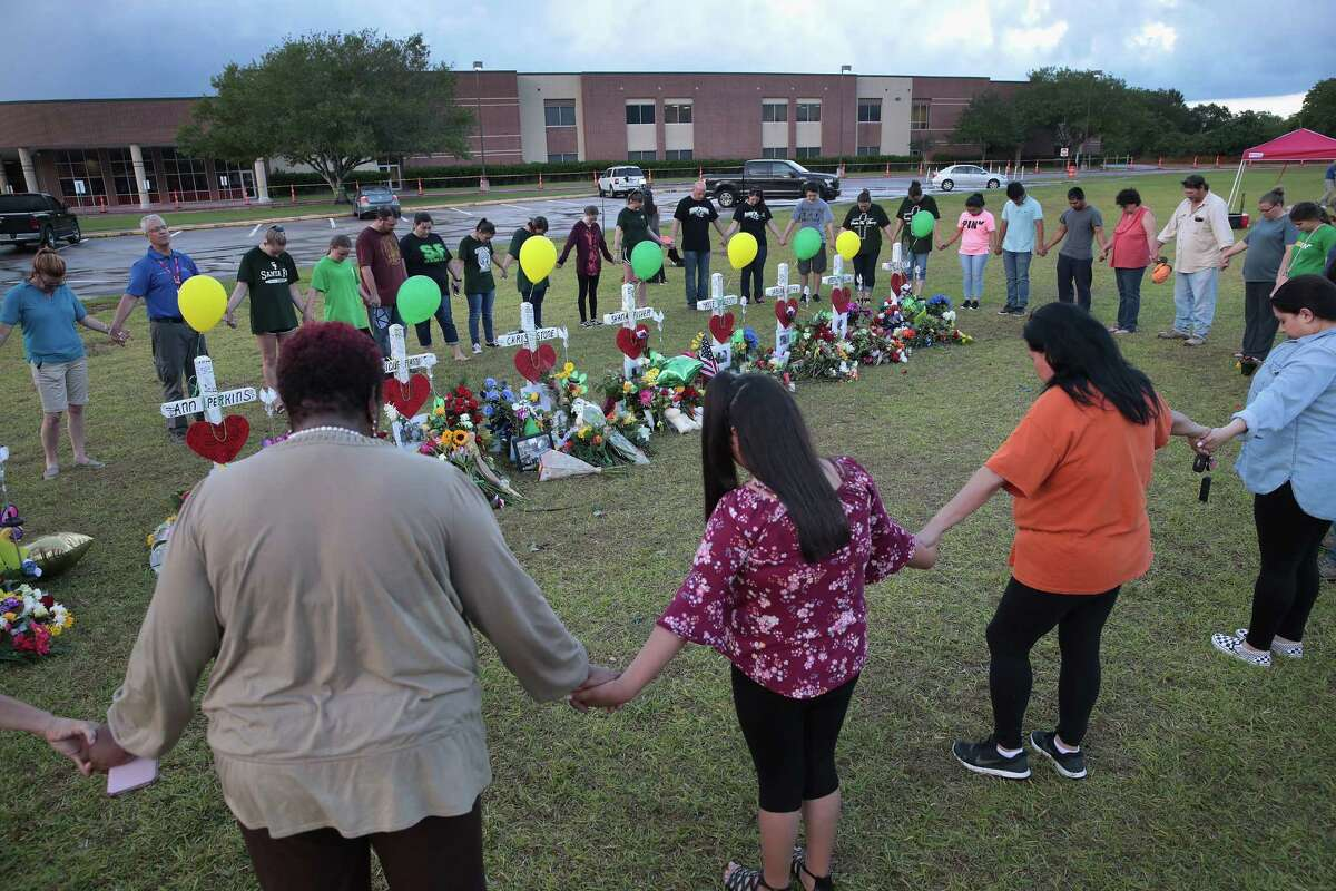May 18, 2018: At Santa Fe High School in Santa Fe, Texas, 17-year-old student Dimitrios Pagourtzis entered the school with a shotgun and a pistol and opened fire, killing 10 people.