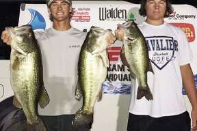 Joe Beebee and Chad Mrazek won the CONROEBASS Tuesday Tournament with a stringer total weight of 18.53 pounds.