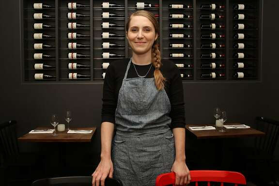 Executive pastry chef Sarah Bonar at Frances in San Francisco, California, on Tuesday, December 15, 2015.