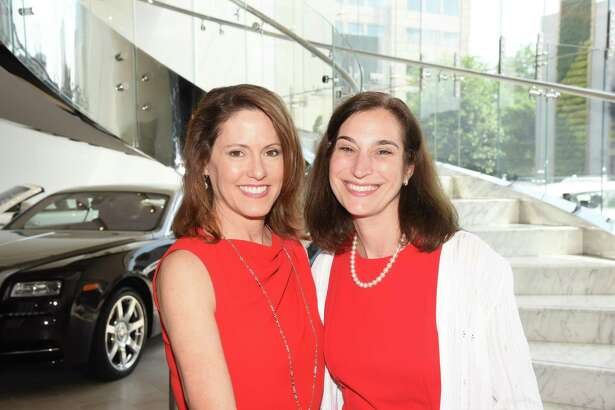 Houston Go Red For Women 2018 co-chairs Rachel Clingman and Roberta Schwartz.
