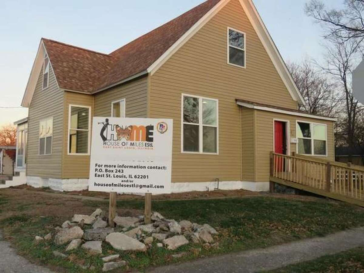 The house where Miles Davis, who was born in Alton, Illinois, spent his formative years - and the nearly whole of his early life from 6 months old - will hold an official public opening during nonprofit House of Miles East Saint Louis' inaugural Miles Fest, from 1 to 6 p.m. Saturday, June 2, at the now-preserved-and-renovated former East St. Louis, Illinois, home of musical and creative genius Miles Davis.