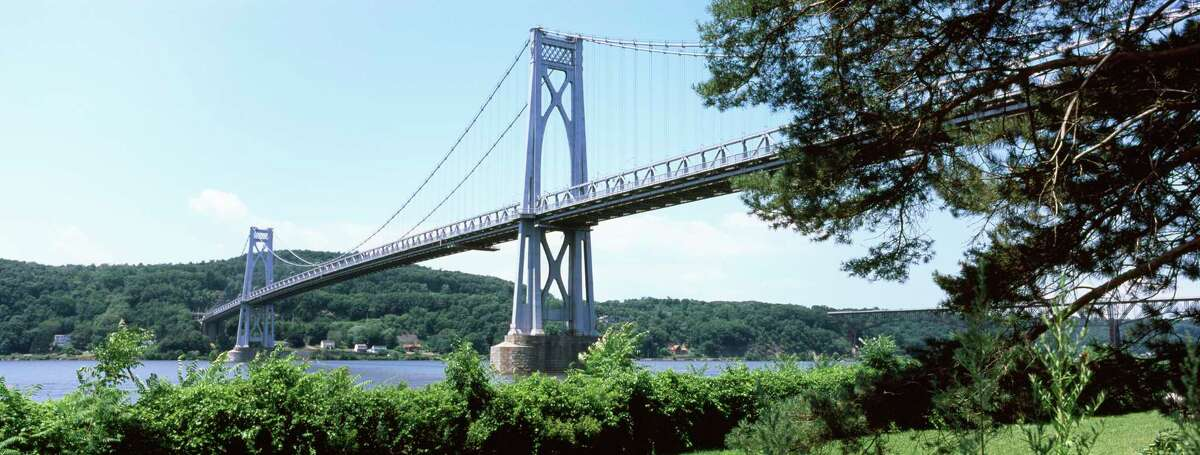 With one foot in Poughkeepsie and one in Highland, the Mid-Hudson Bridge spans the Hudson River about halfway between Albany and New York City. The region around it is a crossroads of sorts between upstate and downstate, offering a rich arts scene, stunning geography and a delicious assortment of dining establishments. Click through the slideshow for tips on what to do around the Mid-Hudson Bridge.