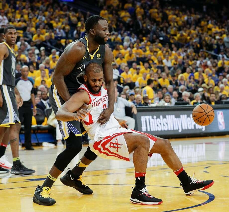 Houston Rockets 3rd Quarter Stats: Warriors' Draymond Green Named All-Defensive Second Team