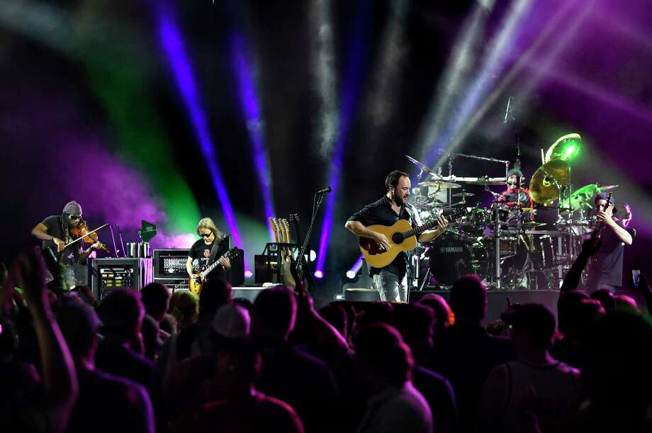 Friday and Saturday: The Dave Matthews Band will perform at Saratoga Performing Arts Center at 8 p.m. each night. Get tickets. Photo: Cindy Schultz / Albany Times Union