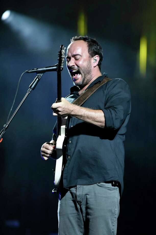 Dave Mathews takes center stage with the Dave Matthews Band performs on Friday, July 15, 2016, at Saratoga Performing Arts Center in Saratoga Springs, N.Y. (Cindy Schultz / Times Union) Photo: Cindy Schultz / Albany Times Union
