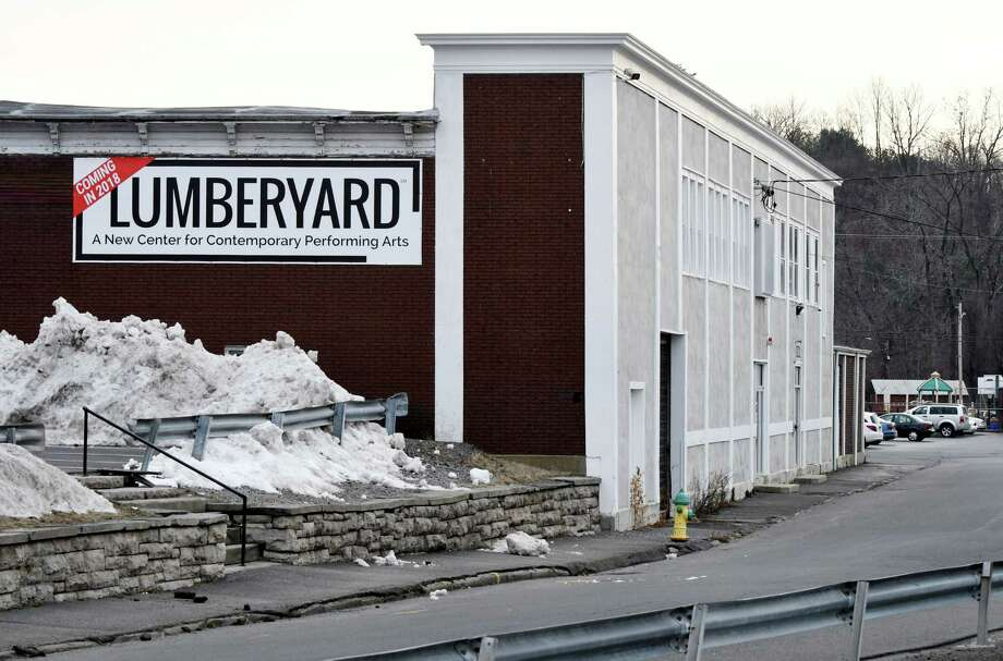 Exterior of a main building at the Lumberyard on Tuesday, Jan. 10, 2017, in Catskill, N.Y. The Lumberyard, formerly the American Dance Institute, is converting a former lumberyard in the heart of the village of Catskill into its summer home, due to open in spring 2018. The multimillion-dollar project will bring jobs and dance companies and is part of a growing cultural identity for Catskill. (Will Waldron/Times Union) Photo: Will Waldron / 20039382A